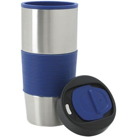 Color Grip Tumbler with Your Slogan