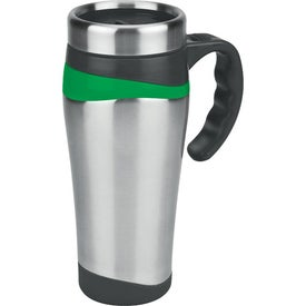 Color Touch Stainless Mug for Your Organization