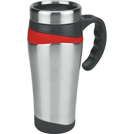 Branded Color Touch Stainless Mug