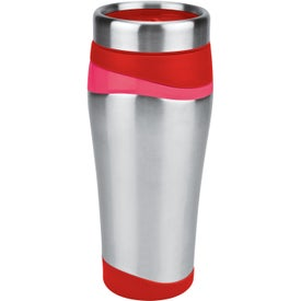 Color Touch Stainless Tumbler Branded with Your Logo