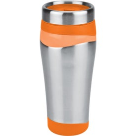 Color Touch Stainless Tumbler Imprinted with Your Logo