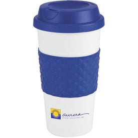 Color Banded Classic Coffee Cup (16 Oz.)