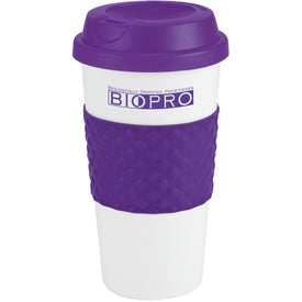 Color Banded Classic Coffee Cup with Your Logo
