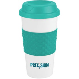 Color Banded Classic Coffee Cup for Promotion