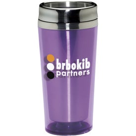 Colored Acrylic Tumbler Printed with Your Logo