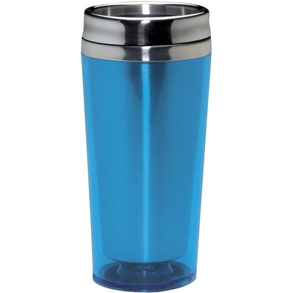Light Blue Colored Acrylic Tumbler