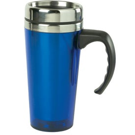 Logo Color Stainless Steel Travel Mug