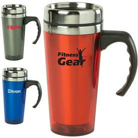 Color Stainless Steel Travel Mug (16 Oz.)
