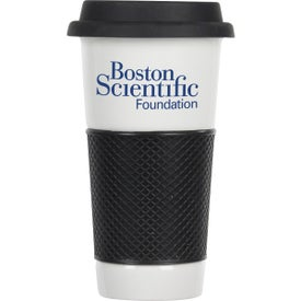 Printed Commuter Ceramic Tumbler with Sleeve