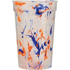 Branded Confetti Stadium Cup