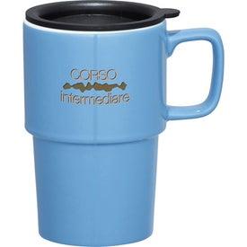 Contra Ceramic Travel Mug Printed with Your Logo