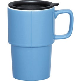 Contra Ceramic Travel Mug for Advertising