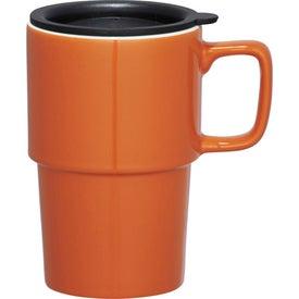 Imprinted Contra Ceramic Travel Mug