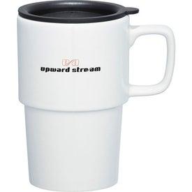 Logo Contra Ceramic Travel Mug