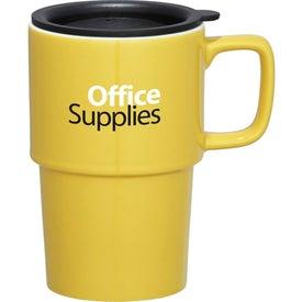 Contra Ceramic Travel Mug Imprinted with Your Logo