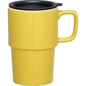 Contra Ceramic Travel Mug with Your Slogan
