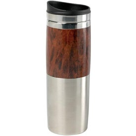 Contrast Wood Tumbler with Your Logo