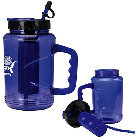 Water bottles at Kohl's - This water bottle features a screw-tight cover and durable construction.