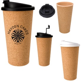 Cork Travel Tumbler (16 Oz.)