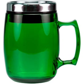 Cosmopolitan Mug with Stainless Steel Slide and Sipp Lid with Your Slogan