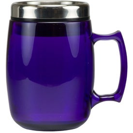 Promotional Cosmopolitan Mug with Stainless Steel Slide and Sipp Lid