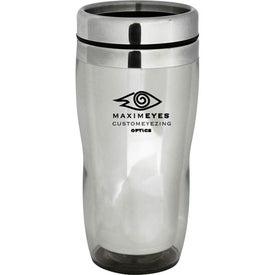 Curvy Mug Imprinted with Your Logo