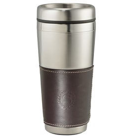 Cutter and Buck American Classic Leather Tumbler (16 Oz.)