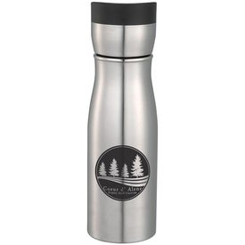Branded Cutter and Buck Performance Series Stainless Bottle