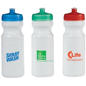 Cyclist Bike Bottle for Marketing