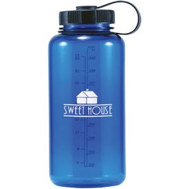 Monogrammed Dolphin Polycarbonate Bottle