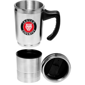 Double Compartment Logo Travel Mug (20 Oz.)