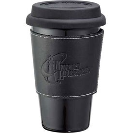 Double Wall Ceramic Tumbler Branded with Your Logo