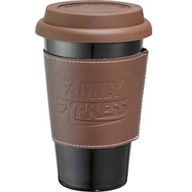 Branded Double Wall Ceramic Tumbler