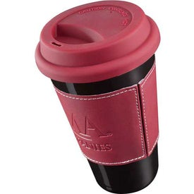 Double Wall Ceramic Tumbler Imprinted with Your Logo