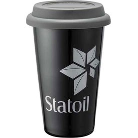 Promotional Double Wall Ceramic Tumbler