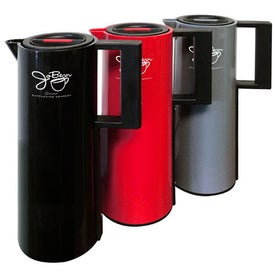 Branded Double Wall Coffee Pot