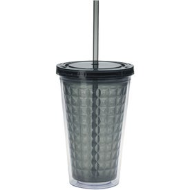 Double Wall Diamond Pattern Tumbler for Promotion