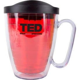 Branded Double Wall Mugs with Handles