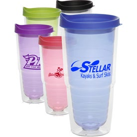 Double Wall Orbit Acrylic Tumbler (24 Oz.)