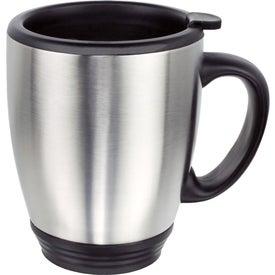 Double Wall Stainless Steel Bistro Mug (16 Oz.)