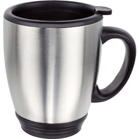 Double Wall Stainless Steel Bistro Mug (16 Oz.)