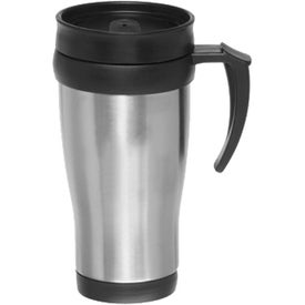 Double Wall Stainless Steel Travel Mugs (14 Oz.)