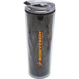 Double Wall Travel Mug with Matching Lid (20 Oz.)