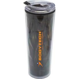 Double Wall Travel Mug with Matching Lid (20 Oz.)