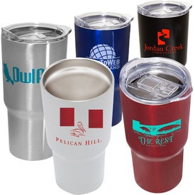 Double Wall Tumblers with Vacuum Sealer (20 Oz.)
