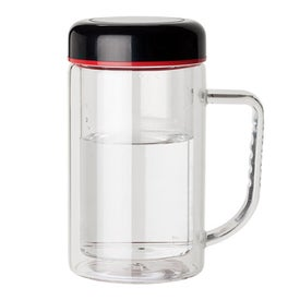 Double Wall Glass Mug for your School