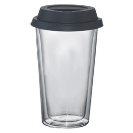 Personalized Double Wall Glass Tumbler