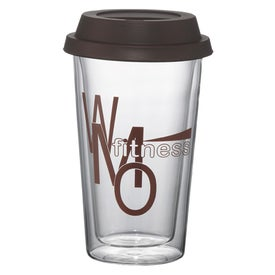 Double Wall Glass Tumbler Imprinted with Your Logo