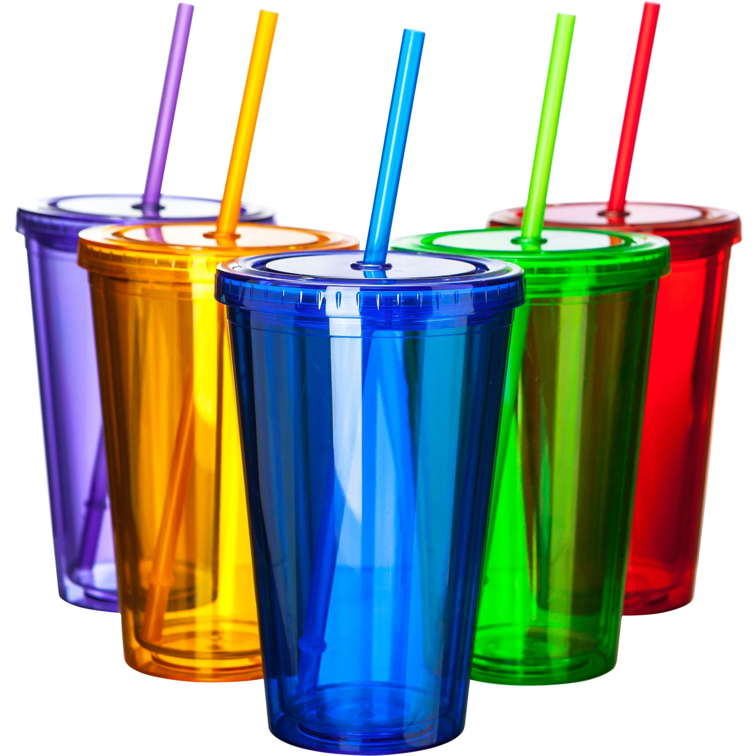 cbc74ebaedd CLICK HERE to Order 16 Oz. Double Wall Acrylic Tumbler With Straws Printed  with Your Logo for $3.23 Ea.