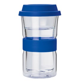 Double Wall Glass Tumbler Branded with Your Logo
